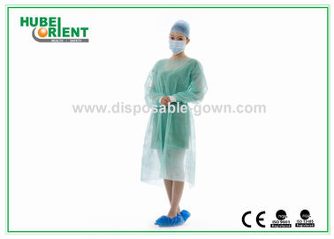 Medical Nonwoven Soft Disposable Isolation Gowns with Knitted Cuff