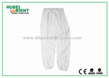 Safety Waterproof White Mens Disposable Pants For Travelling