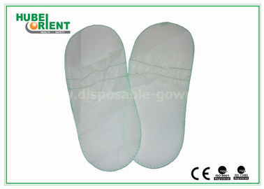 Disposable White Elasticized Men / Women'S Toe Shoes For Beauty Centers